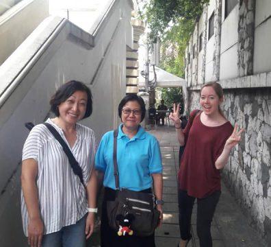 ULS field trip at the Erawan Shrine