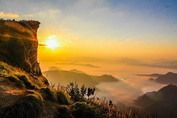 Sun Rise in Thailand